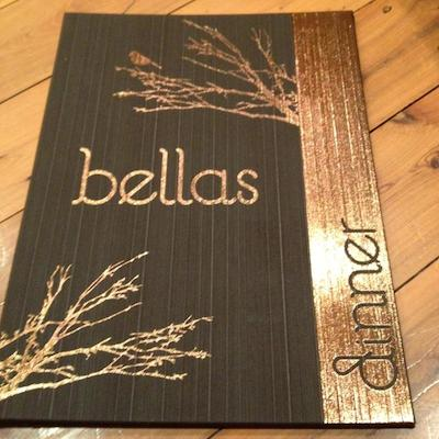 Bella's Menu